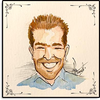 Karikatur von Andre des ACA Teams